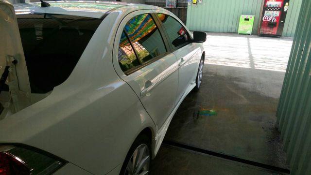 ALL IN ONE結晶鍍膜的洗車照-側邊亮度也很好