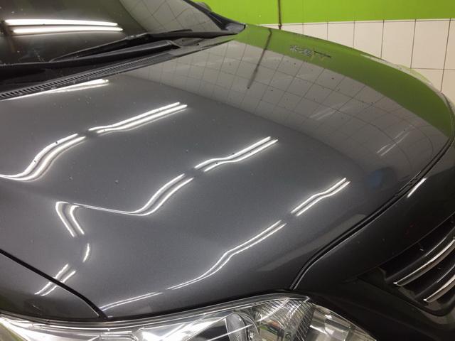 汽車鍍膜後再打蠟的雨天效果