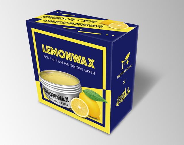 LEMONWAX檸檬蠟的包裝成品