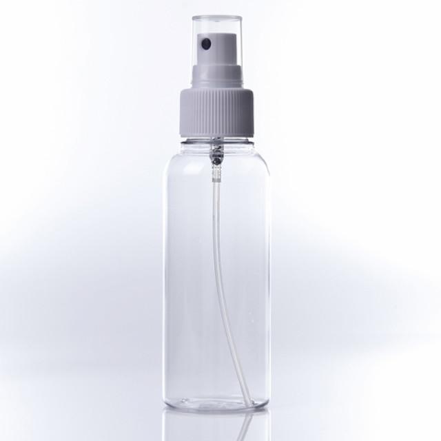 100ml透明噴瓶-黑眼噴頭