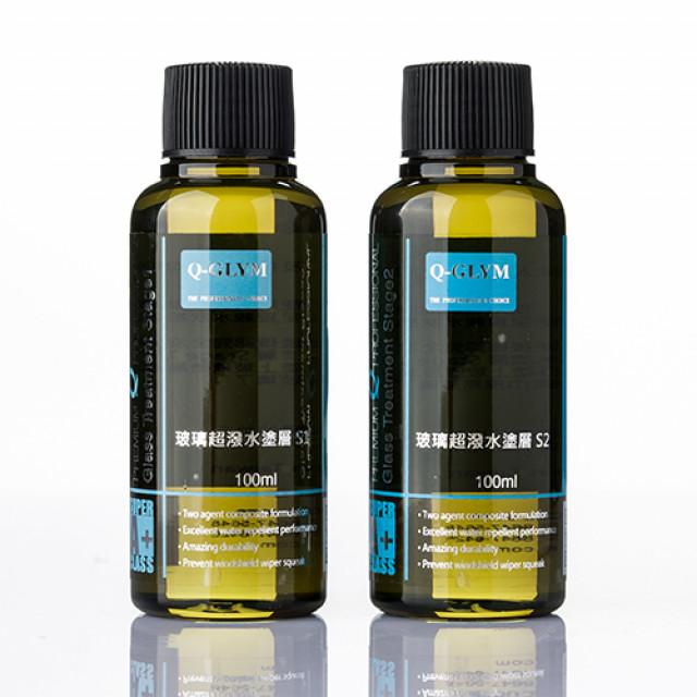 日本超級玻璃鍍膜100ml-S1、S2單劑下單區