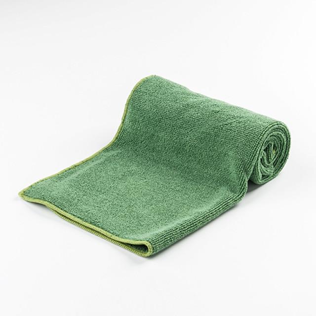 綠色超細纖維布-多功能洗車、鍍膜、下蠟擦拭布30X60cm