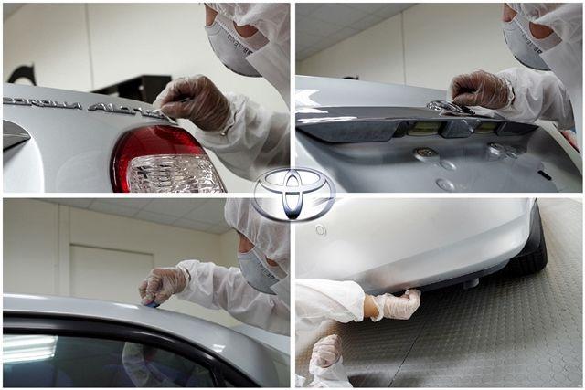 Altis鍍膜施工過程2