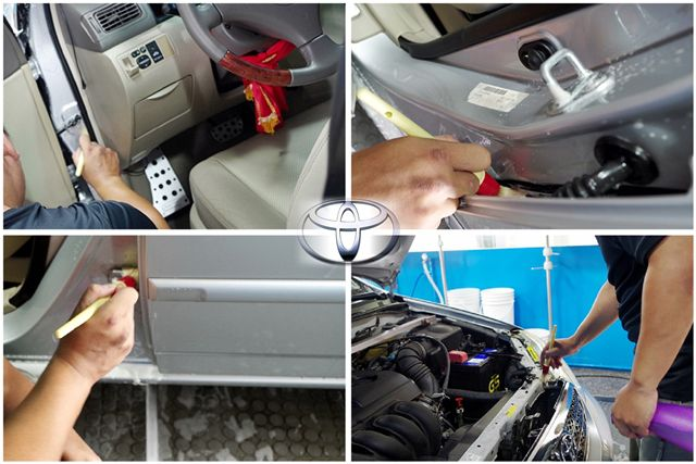 Altis車身細節清洗3