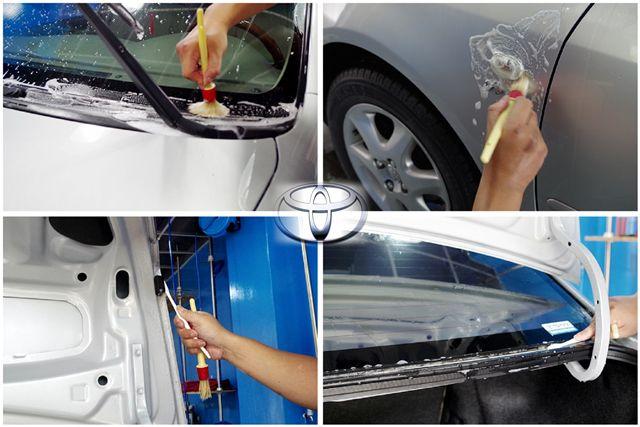 Altis車身細節清洗2