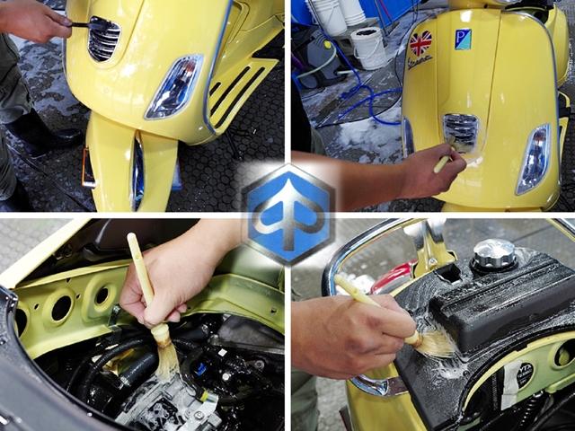 車體鍍膜洗車步驟