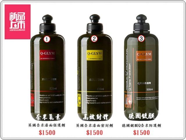 呵護烤漆聖品-奈米氟素高效封體德國鍍膜新品上市