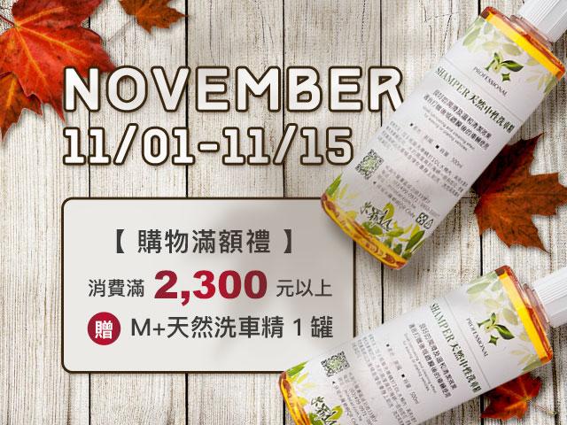 11/1~11/15購...