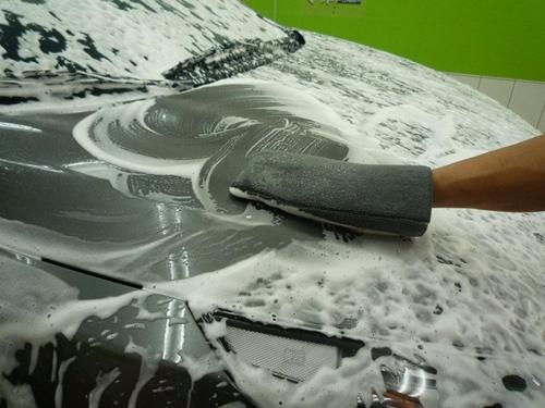超細纖維洗車手套